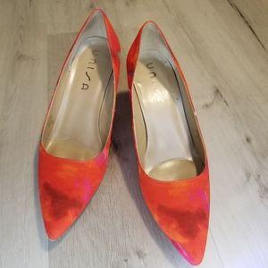 5/$30 Red /orange heels